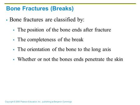 Bone Fractures (Breaks)