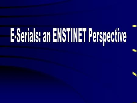 ENSTINET STARS Scientific & Technical ARchiving System.
