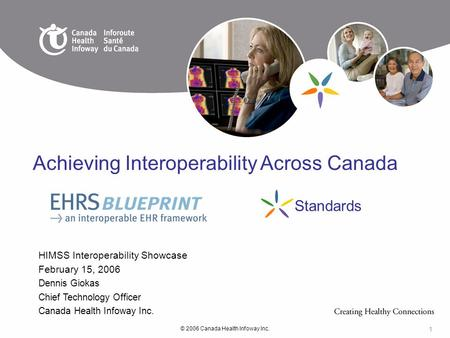 Achieving Interoperability Across Canada