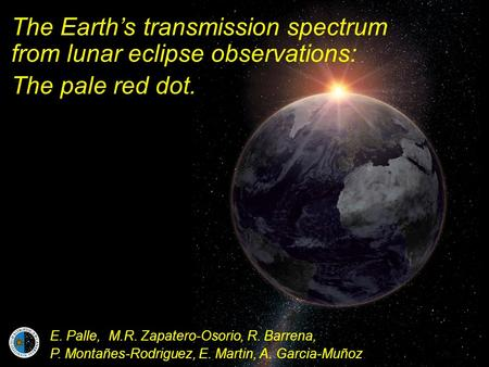 The Earth's transmission spectrum from lunar eclipse observations: