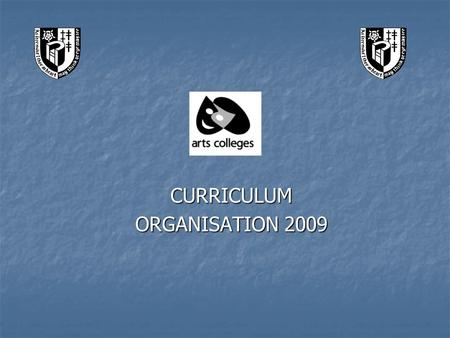 CURRICULUM ORGANISATION 2009. Curriculum Organisation Rationale The best experience for every student The best experience for every student Greater flexibility.