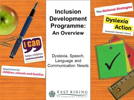 Inclusion Development Programme: