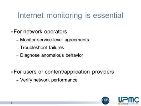 Internet monitoring is essential