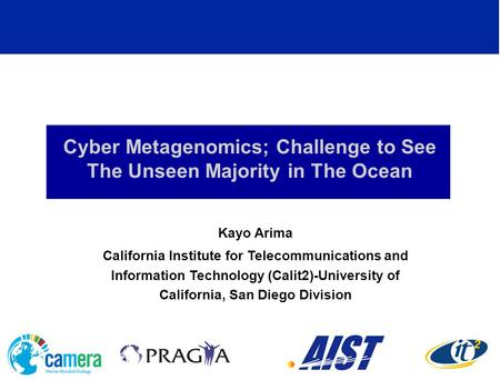 Cyber Metagenomics; Challenge to See The Unseen Majority in The Ocean