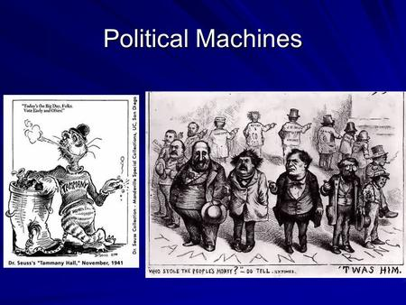 Political Machines. HOT ROC: Gangs of New York The Politics of Fraud and Bribery  wwso&feature=related