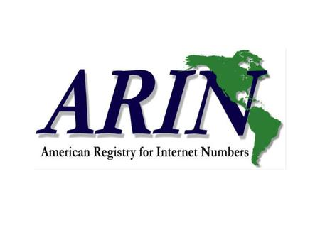 ARIN. April 1, 2001San Francisco, CA IPv6 Allocation Practices Leslie Nobile Michael ONeill.