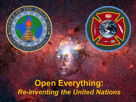 Open Everything: Re-Inventing the United Nations.