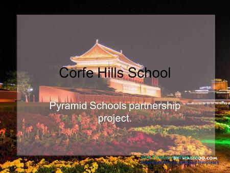 Pyramid Schools partnership project.