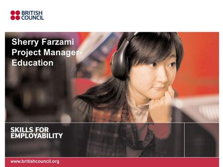 Sherry Farzami Project Manager- Education. Welcome Participants Introduction Outline of the meeting.