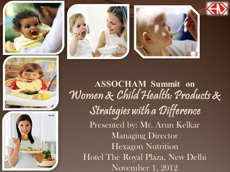 Women & Child Health: Products & Strategies with a Difference