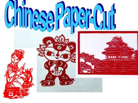 Paper cutting ji ǎ n zh ǐ chuāng huā Brief Introduction (by video)