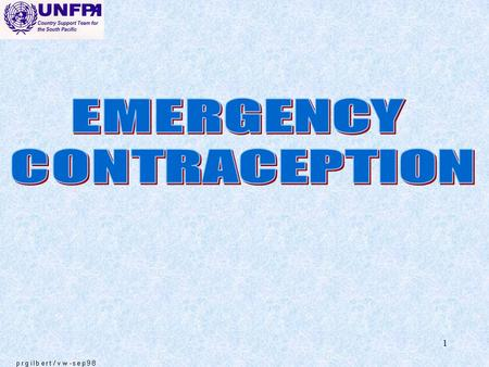 1. 2 Interest in emergency contraception has grown considerably in the past few years EMERGENCY CONTRACEPTION.