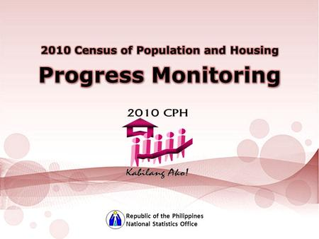 National Statistics Office Republic of the Philippines.