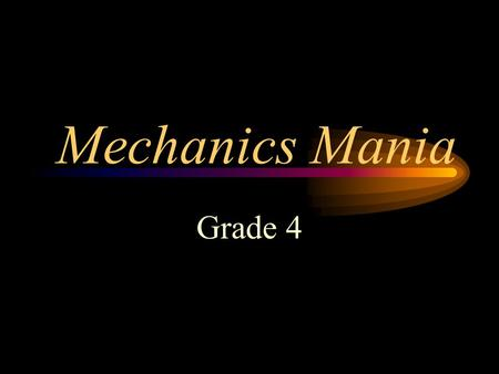 Mechanics Mania Grade 4 Proofreading Proofreading involves applying an understanding of punctuation and capitalization rules to review written works.