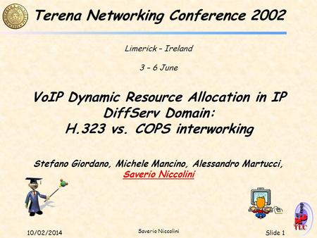 VoIP Dynamic Resource Allocation in IP DiffServ Domain: