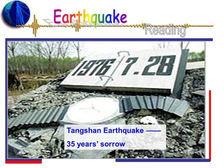 Tangshan Earthquake 35 years sorrow. In Wenchuan Earthquake, 69,000 people were killed and 374,000 were injured. Millions of houses fell down and were.