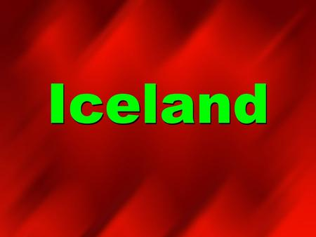 Iceland. Map of Iceland Icelands Flag Country Quick Facts Iceland Capital City: Reykjavik, home to almost half the people of Iceland Main Religions: