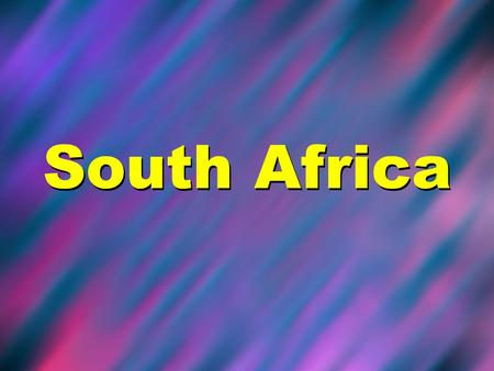 South Africa. Map of Africa South Africas Flag Country Quick Facts South Africa Capital City: Pretoria Population: 48 million Main Religions: Christianity.