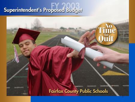 1. 2 Budget Totals $1.6 billion Budget increase9.2 percent Requested increase in county transfer: 12.7 percent (One percent transfer increase equals $10.8.