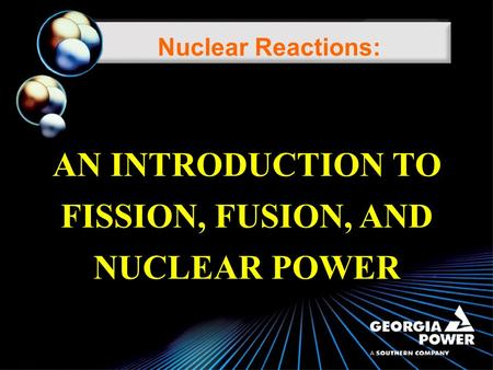 an introduction to the analysis of energy from nuclear fusion