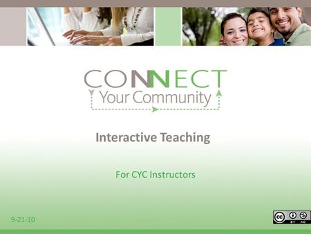 Interactive Teaching For CYC Instructors 9-21-10.