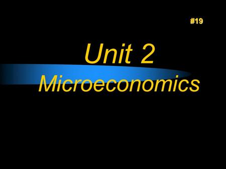 Unit 2 Microeconomics #19. Unit 2 Warm Ups #20 Key Terms Sole proprietorship- a business owned by one person Unlimited liability -when the owner is responsible.