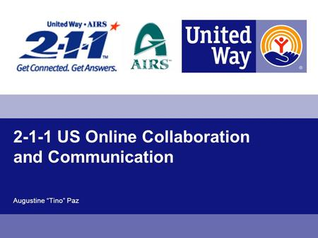 2-1-1 US Online Collaboration and Communication Augustine Tino Paz.