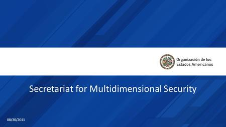 Secretariat for Multidimensional Security