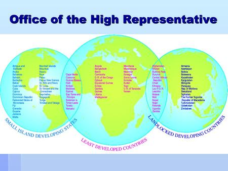 Office of the High Representative. Mandate of the OHRLLS The Office was established on the recommendation of the UN Secretary- General by the General.