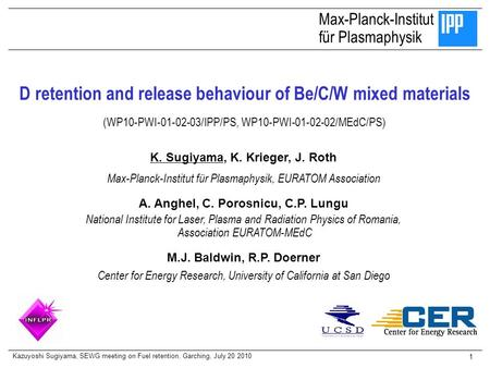 D retention and release behaviour of Be/C/W mixed materials