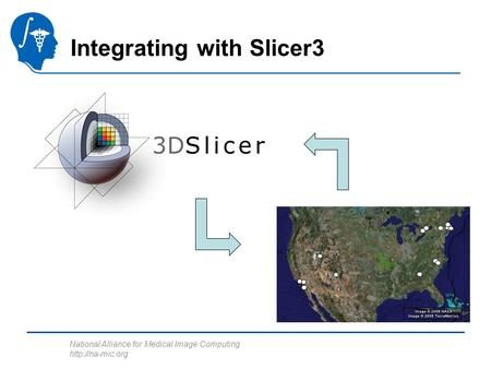 National Alliance for Medical Image Computing  Integrating with Slicer3.