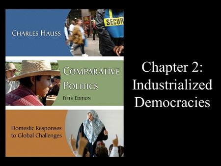 Chapter 2: Industrialized Democracies. Industrialized Democracy – the richest countries with advanced economies and liberal states.