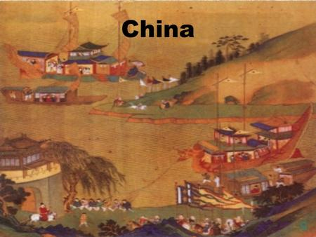 China O. Xia Dynasty 2000 B.C.E Known to us from legends Not enough evidence to prove it existed Farming begins along Huang He…..