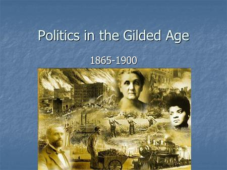 Politics in the Gilded Age 1865-1900. Immigration Anti-foreign/Nativist Movement Anti-foreign/Nativist Movement Know-Nothing Party Know-Nothing Party.