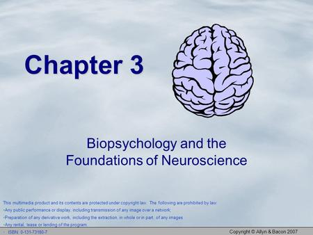 Biopsychology and the Foundations of Neuroscience