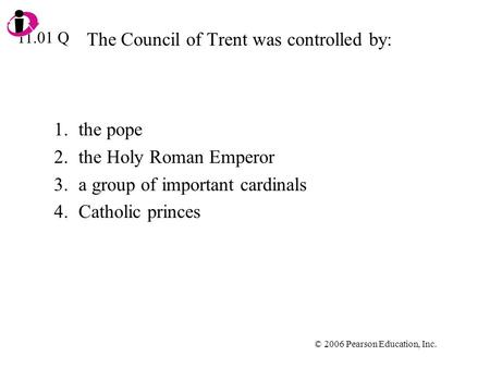 Council of Trent - Essay Example