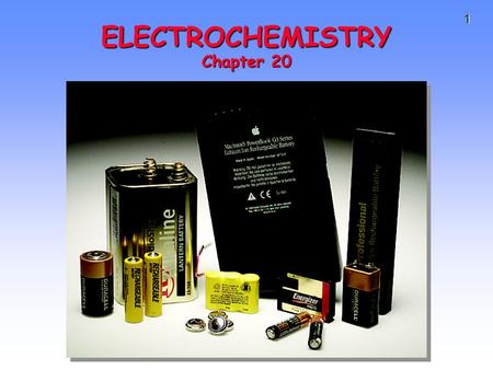 1 ELECTROCHEMISTRY Chapter 20. 2 TRANSFER REACTIONS Atom/Group transfer HCl + H 2 O ---> Cl - + H 3 O + Electron transfer Cu(s) + 2 Ag + (aq) ---> Cu.