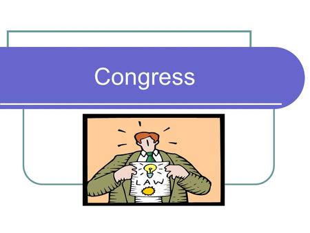 Congress. The Constitution creates a bicameral legislature for three reasons: Two Houses of Congress Historical: The British Parliament consisted of two.