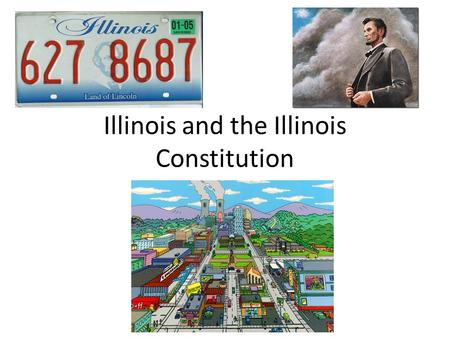 Illinois and the Illinois Constitution. The Legislative Branch The General Assembly: ___________ Legislature 118 State Representatives (2 year term) 59.