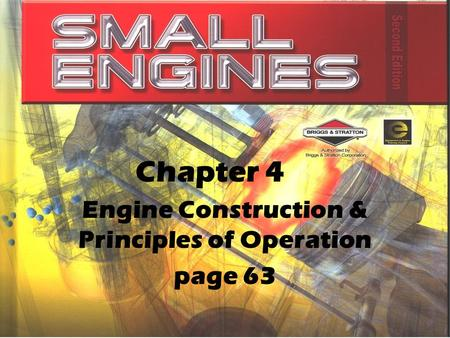 Engine Construction & Principles of Operation page 63