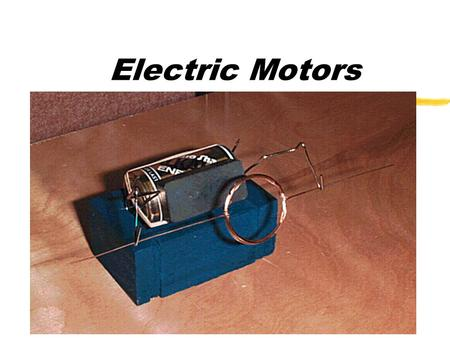 Electric Motors Electric Circuits zAn electric circuit is an electrical path that begins at a power source and ends up back at the power source. zThe.