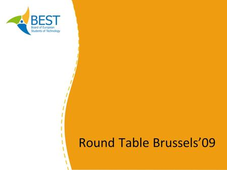 Round Table Brussels09. Career Newsletter Round Table Brussels 09.