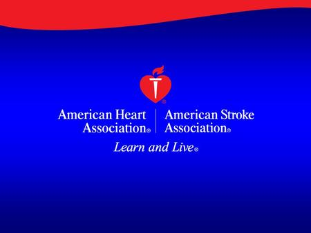 A Guideline for Healthcare Professionals From the American Heart Association & American Stroke Association Metrics for Measuring Quality of Care in Comprehensive.
