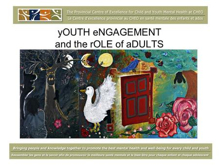 YOUTH eNGAGEMENT and the rOLE of aDULTS. gOALS for today… Understand the role of an adult ally Be aware of the qualities and skills needed to be a strong.