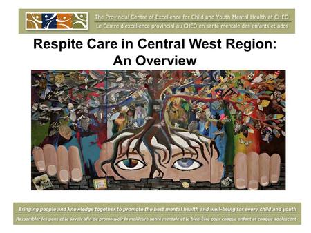 Respite Care in Central West Region: An Overview.