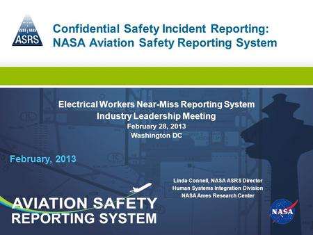 Electrical Workers Near-Miss Reporting System