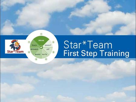 Star*Team Inner Circle Accountability Group & 1 st Step Training Introduction / Overview.