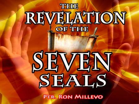 REVELATION 6:1 And I saw when the Lamb opened one of the seals, and I heard, as it were the noise of thunder, one of the four beasts saying, Come and.