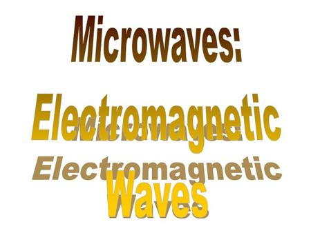 The following shows the existence of oscillating magnetic and electric fields in an electromagnetic wave The detection of the fields relies on the two.