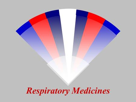Respiratory Medicines. Decongestants w Indications runny nose stuffy head sore throat some ear pain w Action - binds to alpha-1 receptors on blood vessels.